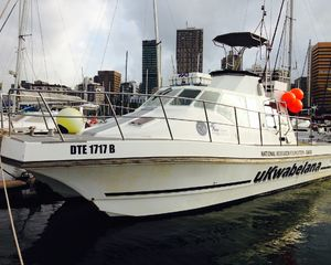 MARINE RESEARCH VESSEL WORKING OUT OF DURBAN HARBOUR