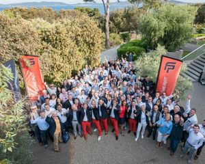 Fountaine Pajot dealership meeting in France