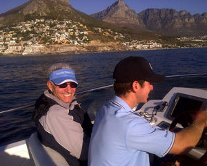 BOATING WORLD TAKES YOU ON A SEA CRUISE ON BOARD A 42' AT CLIFTON SOUTH AFRICA!