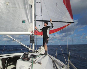 The race to St Helena with Dale Kushner and his built-to-win Jeanneau Sunfast 3200