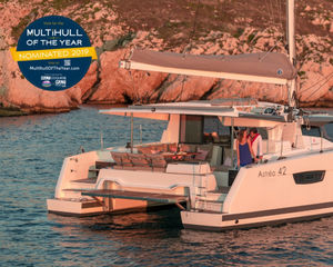 The 2019 Multihull of the Year Award selected Yachts